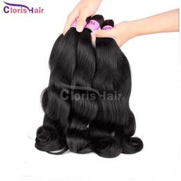 Descuento teñidos haces de pelo de malasia Malasia del cuerpo de la onda Extensiones de cabello humano para la granel sin procesar barato ondulado Cabello humano a granel No Implementos 3 lotes se pueden teñir