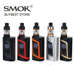 100% Authentic SMOK Alien Kit 220W Starter Kit 220 High Wattage Smok Alien Mod With 3ml SMOK TFV8 Baby Beast Tank Electronic Cigarette