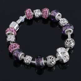 Wholesale summer style aliexpress european charm beads fit charm bracelets for women
