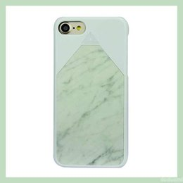 Wholesale 2016 Latest Fashion phone cases with retail package Natural Marble Material laptop true PC personalized phone covers for Iphone plus