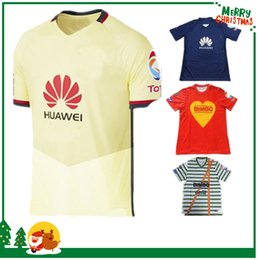 Wholesale Club de Futbol America Mexican team Club America Soccer Shirts Memorial MICKY M LAYUN O PERALTA Camisetas MX Liga Futbol Shirt