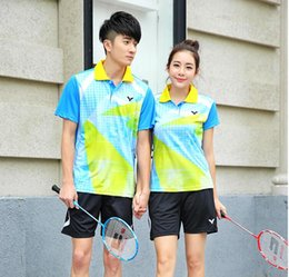 New Victor Badminton wear T-shirts,Polyester Breathable quick-drying Table tennis Jersey T-shirts ,Badminton shorts and shirt M-4XL
