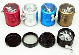 Dry herb grinder smoking grinder size CNC grinder metal cnc teeth tobacco grinder 63mm 4 parts mix designs