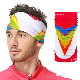 New stylish seamless magic Cycling magic anti-UV bandana headband scarf hip-hop multifunctional bandana Retail wholesales bandanas