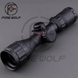 Wholesale Leapers UTG X32 AOCE With Sun Shade dense point sight tube with extinction Rifle Scope with Free Mounts