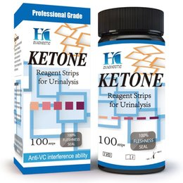 Wholesale HK Ketone Test Strips Urine Strips Check Ketosis Levels Track Your Low Carb high Fat Butter Coffee Diets