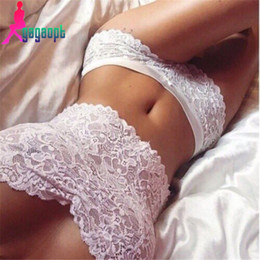 Promotion lacets blancs gros Gros-Gagaopt 2016 Summer Femmes Sexy Lace Tops White Bikini Sexy Lingerie Crop Top Harajuku Bra Sets Maillot de bain Plage maillot de bain