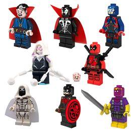 Wholesale Super Heroes Hydra Captain Doctor Strange Moon Knight Atom Spawn Minifigure Building Block Toy Bricks Blocks Pogo PG8014