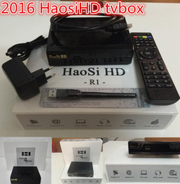 Wholesale 2016 the best cheapest Arabic high definition IPTV set top box with high definition Haosi Arab TV IPTV channel Europe and the America