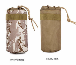 Wholesale Waist Bag Water Bottle Bags Outdoor Waist Hung Kettle Cover Wrap Put Beverage Drinks Sports Pack