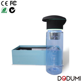 Wholesale water bottles tritan water bottle with active carbon filter system hot sale on Amazon FOB Shenzhen