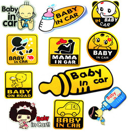 Wholesale BABY ON BOARD Car Sticker for your baby Graphic Sticker Decal Sticker x cm model Cool
