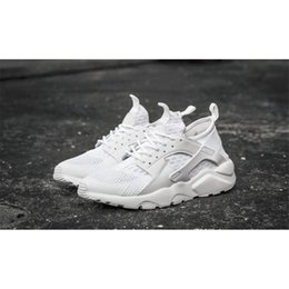Brand New Black White Air Huarache Men casual shoes Discount Sneakers Breathable Original Box Running Shoes Huaraches With the Shoes box