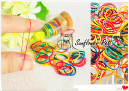Pet Dog Colorful Pet Beauty Supplies Dogs Grooming Rubber Band Pet Hair Product Hair Accessories rubber band