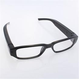 Descuento micro cámara espía oculto 720P HD Mini gafas de espionaje ocultos cámara gafas Eyewear DVR Video Recorder Micro Cam