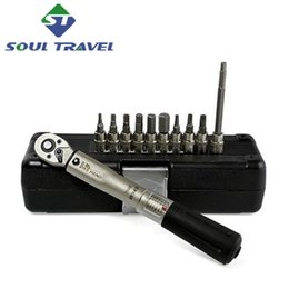 Wholesale Soul Travel Bicycle Torque Wrench Allen Key Tools Set Bike Tool Kit Other Cycling Repair New Herramientas Bicicleta Ciclismo