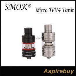 Wholesale Smok Micro TFV4 Tank MM Designed to Offer Three Types of Heating Cores for Different Vaping Needs Smok Micro TFV4 Tank Authentic