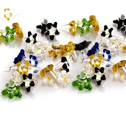 Tiny Daisy Style Flower Glass Screen for Pipes Assorted Colors Free Shipping