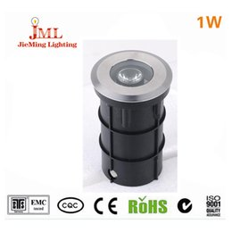 Underground light 1w 85-265V high aluminum metrail and heat sink 1pcs lot underground light white color