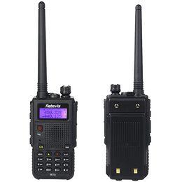 Wholesale Retevis RT5 Walkie Talkie Dual Band MHz W High Medium Low Channel Scan VOX DTMF FM Radio Hz Two Way Radio A9108Q