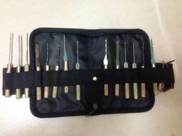 Free shipping Auto tool dimple pick set Auto locksmith tools Dimple Hand Pick Set for car locks