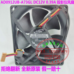 Wholesale New Original ADDA AD0912UB A73GL DC12V A MM cm for Acer BenQ Optoma projector cooling fan