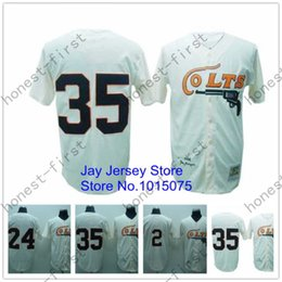 Wholesale Houston Baseball Jersey Retro Cream Jimmy Wynn Joe Morgan Nellie Fox