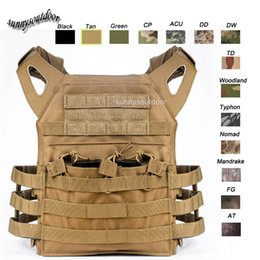 Wholesale Outdoor Sports Outdoor Camouflage Military Body Armor Combat Assault Waistcoat Tactical Molle Vest Plate Carrier Vest SO06