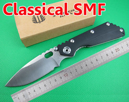 "FREE shipping New 8"" CNC Cambered Surface Black G-10 Handle Strider SMF SNG Folding Pocket Knife OEM EDC Knives FD02"
