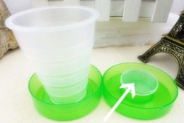 Plastic folding travel cup,Colorful collapsible cup, magic travle cup