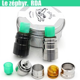 Wholesale 2016 Le Zephyr RDA Mod Rebuildable Atomizers Adjustable Airflow center screw Upgraded Zéphyr Magister Vapor mods tank e cigarettes DHL