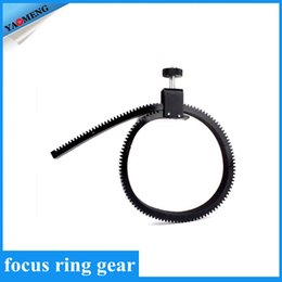 Wholesale Camera Accessories Adjustable Rubber Follow Focus Gear Ring Belt with Aluminum Alloy Grip for DSLR Camcorder Camera