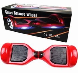 2015 HOT 6.5 inch Scooter Smart Balance Two Wheels Bicycle 4400mah Smart Air Verwaltungsrat mit Fernbedienung Smart Scooter