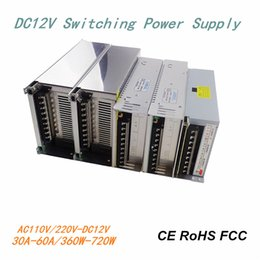 Wholesale Aluminum Housing Switch Power Supply AC110V V to DC12V A A A A A A A LED Transformers Constant Current