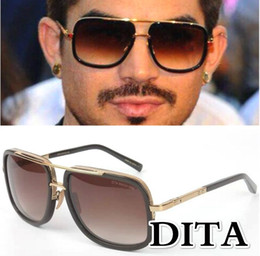 Wholesale 2016 New Fashion Dita Mach One Gradient Sunglasses Men Women Brand Design Sun Glasses Vintage Retro Classic Oculos De Sol Gafas