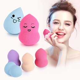 Wholesale 1 Face Make Up Sponge Cosmetic Puff Pro Fundation Miracle Makeup Sponge Blender Flawless Powder Puff Smooth Mini Beauty Egg W