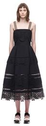 Вечернее платье Hip Prom Paneled Sexy Lace Плюс Размер Черный Летний ремешок Midcalf A-Line Платье XTLYQ018 от Поставщики подкладке панель