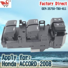 Wholesale Factory Direct Master Electric Front and Right Auto Power Main Window Switch Apply for Honda ACCORD TB0 H11