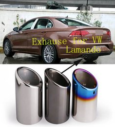 2016 hot sell customized Car Automobiles Exhause exhaust muffler pipe for Volkswagen VW Lamando 230TSI 280 330