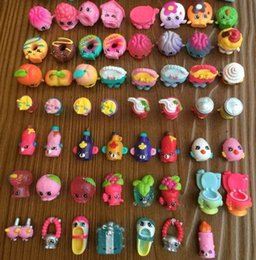 Wholesale Shopping Season PVC Shopping Figures Toys No repeating for Baby Girls Pretend Play Gifts