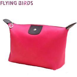 Wholesale FLYING BIRDS Cosmetic Bags Makeup Bag Cosmetic case Dumpling Large Volume Women Packages Waterproof Make Up Bag LS4416fb