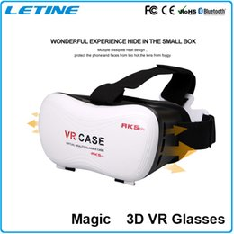 VR CASE VRBOX 3D Glasses Match game handle Professional VR 3d Glasses Vrbox Upgraded Version Virtual Reality Video Glasses