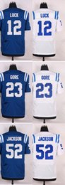 Wholesale 2016 Newest Men s IC Andrew Luck Frank Gore D Qwell Jackson Elite Jerseys