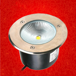 Free shipping! AC85-265V DC12V 15W round LED buried light.ourdoor underground light, garden indoor outside using