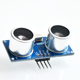 Wholesale PC HC SR04 Free shiping to world Ultrasonic Wave Detector Ranging Module HC SR04 HC SR04 HCSR04 Distance Sensor
