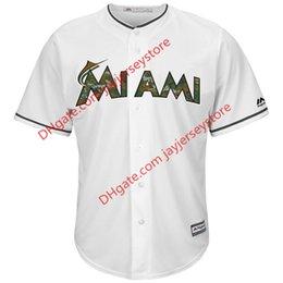 Wholesale Men s Miami Marlins Majestic White Fashion Memorial Day Cool Base Jersey
