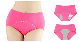 L XL XXL XXXL Asian Size Quality Modal Women Period Panties Underwear Menstrual Waterproof Leakproof Panties Leakage Sanitary Panty Briefs