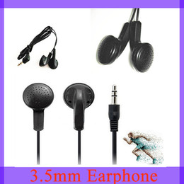 Wholesale aviation headsets black Earphone mm Headphones Headset for MP3 iphone plus Samsung S4 Note3 cellphones