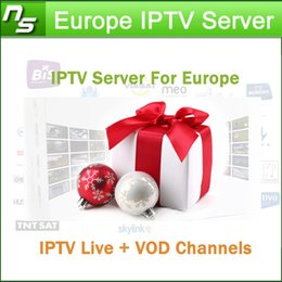 Wholesale Europe IPTV Server for Spain France Germany Italy with months IPTV Server Support M3U Android Enigma2 Live VOD Channels