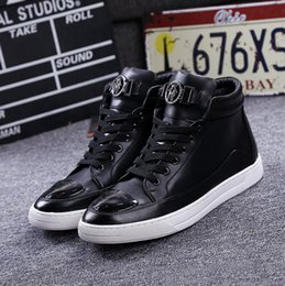 Wholesale New Fashion Men Breathable Casual High Top Exercise Shoes Men s Flats Shoes Male Ankle Boots Footwear for Men EU Size